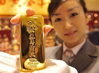 Китай - крупнейший потребитель золота в мире